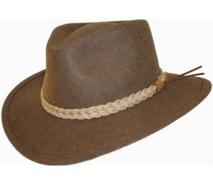 Rocky Mountain Sportsman Crushable Felt Outback Hat