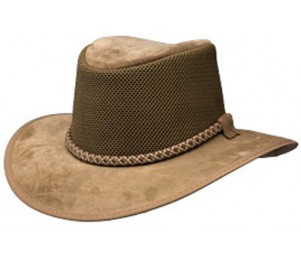 Rocky Mountain Outback's Mountain Breeze Pigskin Suede Hat