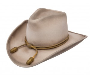 Resistol John Wayne The Fort Crushable Wool Western Hat