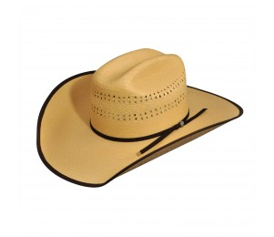 Bailey Western Brock 4X Straw Western Hat