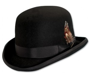 Stacy Adams Monroe Premium Wool Felt Derby Bowler