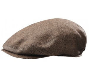 Stetson Bandera Silk and Cashmere Blend Ivy Cap - Brown - M
