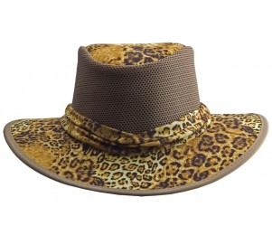 Rocky Mountain Outback Safari Animal Print Hat
