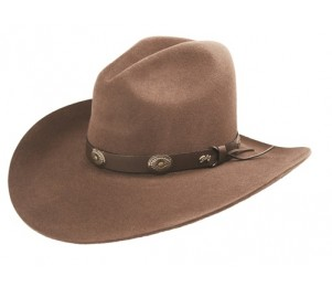 Bailey Western Tombstone 2X Wool Felt Hat