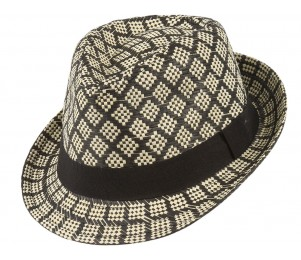 Del Ray Paper Straw Fedora