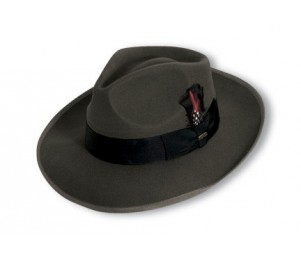Scala Premium Wool Felt Zoot Large Brim