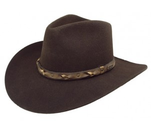 Bailey Western Navarro 2X Wool Felt Hat - Sudan/Brown - 7 3/8 (L)