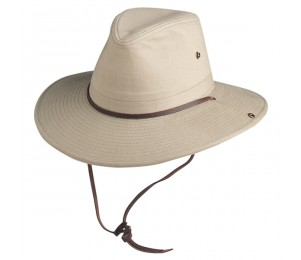 Conner Brushed Cotton Outback Hat