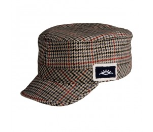Conner Poly Cotton Military Tweed Cap