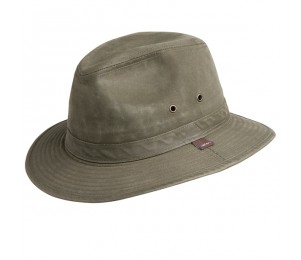 Conner Indy Jones Mens Water Resistant Cotton Hat