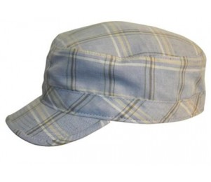 Conner Plaid Army Cap