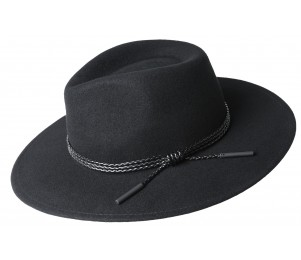 Bailey Piston Wool Felt Wide Brim Fedora