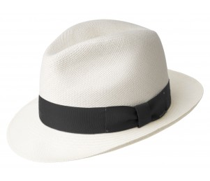 Bailey of Hollywood Thurman Straw Panama Fedora