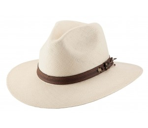 Brittoli Open Land Panama Hat