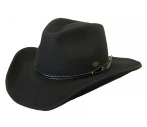 Conner Outlaw Rope Band Western Hat