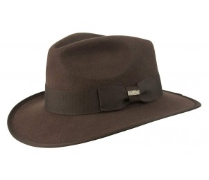 Conner Wool Felt Indiana Fedora Hat