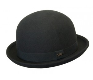 Conner Wool Felt Waterproof Crushable Derby Bowler Hat