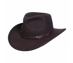 Conner Wool Felt Shapeable Outback Hat