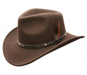 Conner Star Rider Waterproof Wool Outback Hat