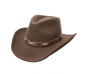 Conner High Noon Shapeable Wool Cowboy Hat