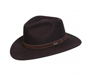 Conner Flinders Wool Outback Fedora Hat