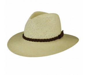 Pantropic Caribbean Twisted Band Fedora