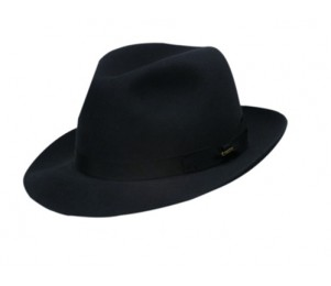 Christys' of London Hand Made Fur Felt Trilby Fedora Hat
