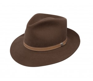 Stetson Colton Crushable Wool Felt Hat