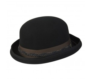 Conner Carson City Wool Bowler Hat