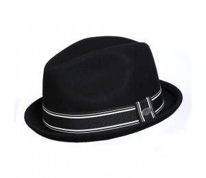 Conner Street Car Stingy Brim Fedora Hat