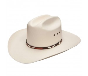 Stetson Eagle Pass 10X Straw Cowboy Hat - 7 1/8