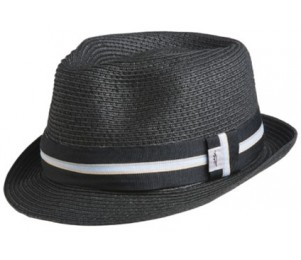 Conner Sewn Braid Toyo Fedora Hat