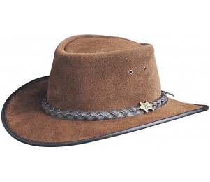BC Hats Suede Outback Hat