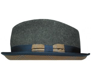 Stitch Hats Harrisburg Horseshoe Crown Fedora