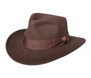 Indiana Jones Last Crusader Fedora - Brown - M