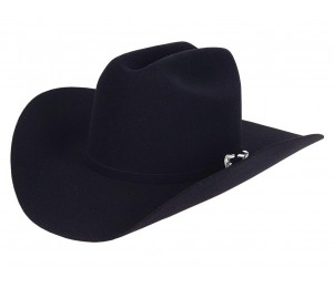 Bailey Western Lightning 4X Cowboy Hat - Black - 6 1/2 (XXS)