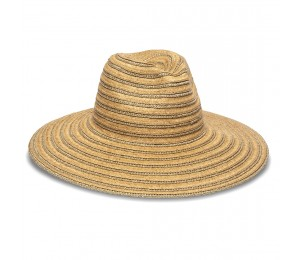 Physician Endorsed Hamilton Packable Wide Brim Toyo Fedora