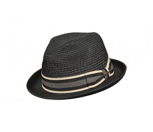 Scala Del Mar Paper Braid Stingy Brim Fedora