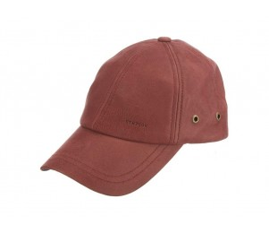 Stetson Coconino Unstructured Lamb Leather Baseball Cap
