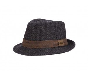 Stetson Crossgrain Nail Head Wool Blend Stingy Brim Fedora