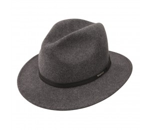 Stetson Explorer Packable Wool Fedora