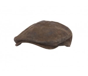 Stetson Hood Weathered Leather Ivy Cap
