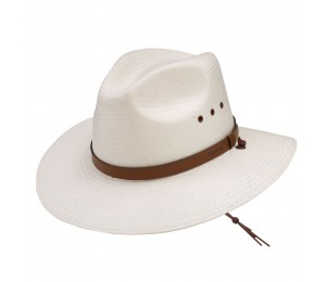 Stetson Los Alamos Shantung Straw Outdoor Hat