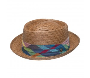 Stetson Madrigal Coconut Straw Porkpie Hat