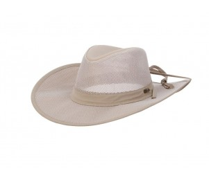 Stetson Montana No Fly Zone Nylon Safari Hat
