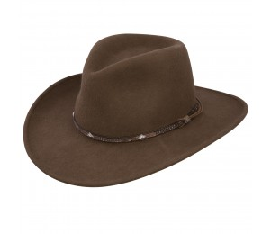 Stetson Mountain Sky Crushable Wool Felt Hat