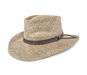 Stetson Gambler - Seagrass Straw Outdoorsman Golf Hat
