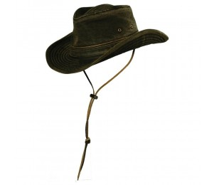 Stetson Dundee Cotton Canvas Outback Hat