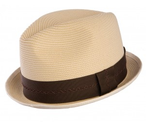 Stetson Mercer Milan Braid Straw Fedora