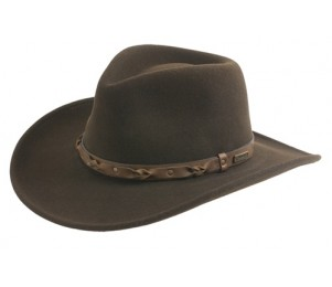 Wind River by Bailey Palisade Crushable Western Hat - Beaver - L